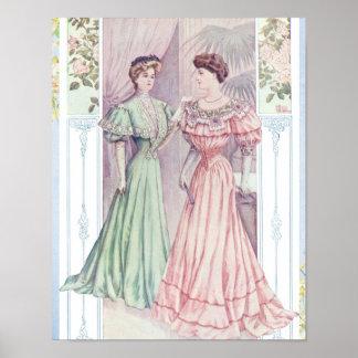 Vintage Women Poster