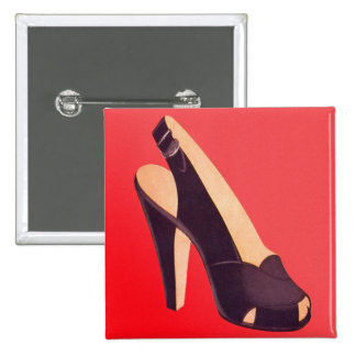 Vintage Women s High Heels Shoe Pin