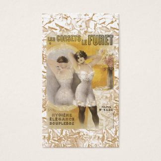 Vintage Womens Corsets Business Card