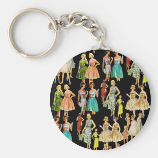 Vintage Women's Fashion Key Ring