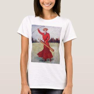 Vintage Women's Golf Fashion 1910s T-Shirt
