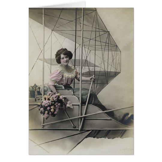 Vintage Women's Postcard Images