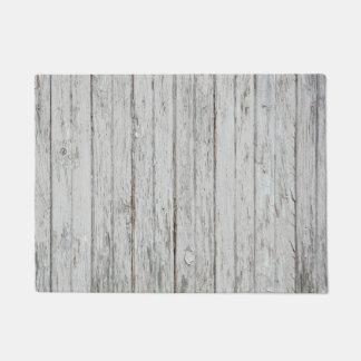 Vintage Wood Background Doormat
