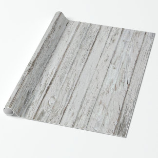 Vintage Wood Background Wrapping Paper
