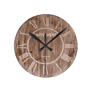 VINTAGE WOOD | London 1809 Wall Clocks