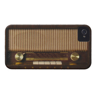 Vintage Wooden Radio Case-Mate iPhone 4 Cases