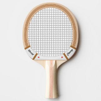 Vintage Wooden Tennis Racket Ping Pong Paddle