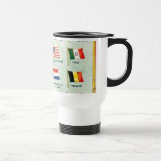 Vintage World Flags Mug