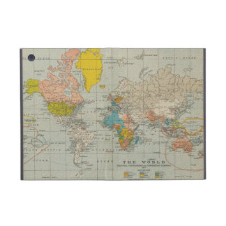 Vintage World Map 1910 Cover For iPad Mini