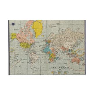 Vintage World Map 1910 iPad Mini Case