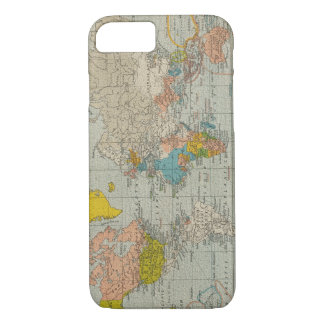 Vintage World Map 1910 iPhone 8/7 Case