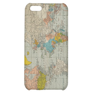 Vintage World Map 1910 Cover For iPhone 5C