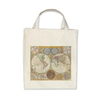 Vintage World Map Bag