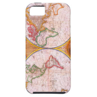 Vintage World Map iPhone 5 Cover