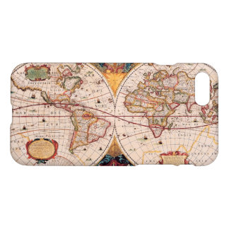 Vintage World Map Circa 1600 iPhone 8/7 Case