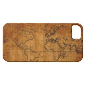 Vintage World Map iPhone 5/5S Case