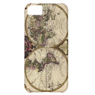 Vintage World Map iPhone 5 Case