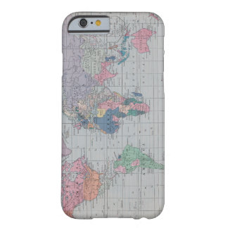 Vintage World Map iPhone 6 case Barely There iPhone 6 Case
