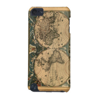 Vintage World Map iPod Touch Cases