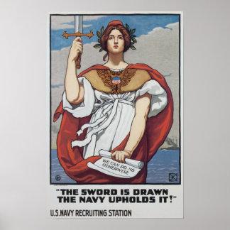 Vintage World War 1 Poster