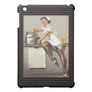 Vintage World War 2 Pinup Nurse iPad Mini Cover