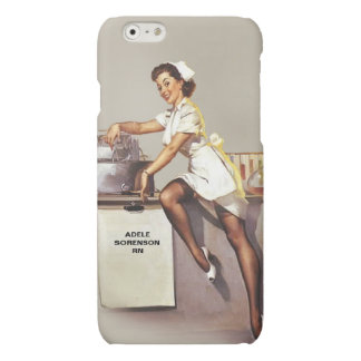 Vintage World War 2 PinUp Nurse Personalized