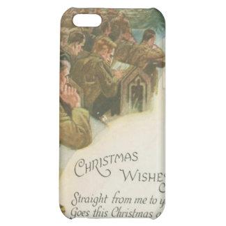 Vintage World War Christmas iPhone 5C Cases