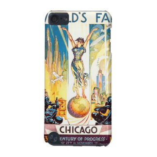 Vintage Worlds Fair Chicago Poster 1933 iPod Touch (5th Generation) Case