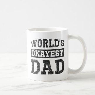 Vintage World's Okayest Dad Classic Mug