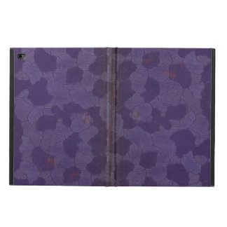 Vintage Worn Stained Purple Book Cover
