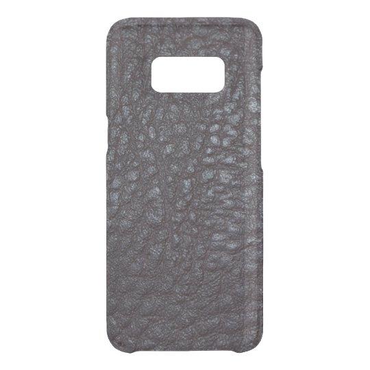 Vintage Worn Textured Black Leather Uncommon Samsung Galaxy S8 Case