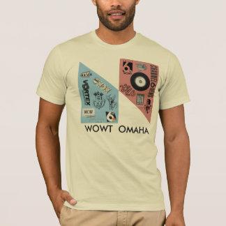 Vintage WOWT logos T-Shirt