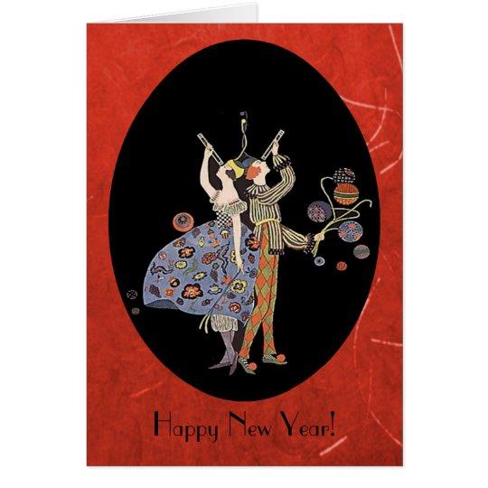 Vintage WW1 Art Deco Party Custom Card