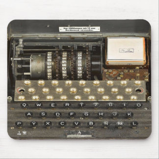 Vintage_WWII_Enigma_03 Mouse Pads