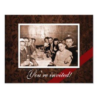 Vintage WWII Era Gathering Card