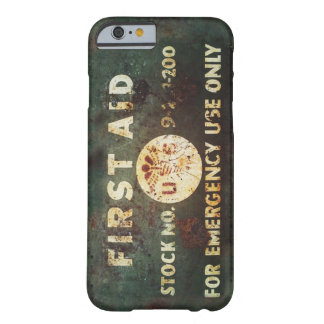 Vintage WWII First Aid iPhone 6 case Barely There iPhone 6 Case