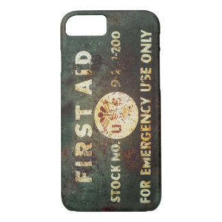 Vintage WWII First Aid iPhone 7 case