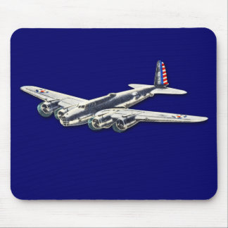 Vintage WWII US Aircraft Mousepad