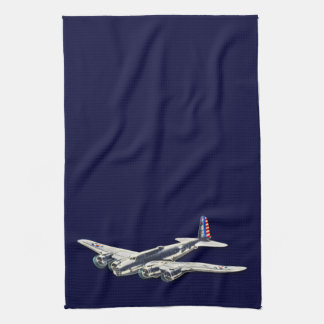 Vintage WWII US Aircraft Hand Towels