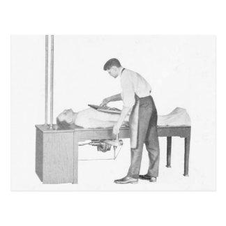 Vintage X-Ray Man Postcard
