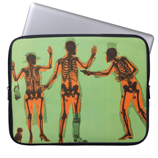 Vintage X Ray People Gun Science Fiction Invention Laptop Sleeve