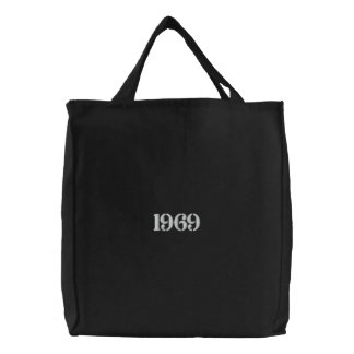 Vintage Year Canvas Bags