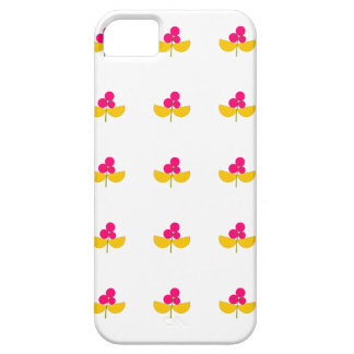 Vintage yellow and pink flowers case for the iPhone 5