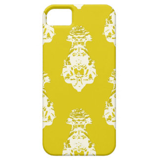 Vintage yellow background iPhone 5 cover