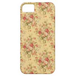 Vintage Yellow Floral iPhone 5 Case