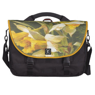 Vintage Yellow Flowers Commuter Bag