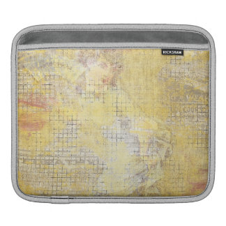 vintage yellow ladies collage sleeves for iPads