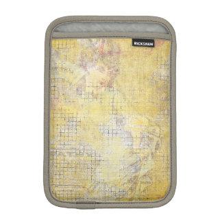 vintage yellow ladies collage sleeve for iPad mini