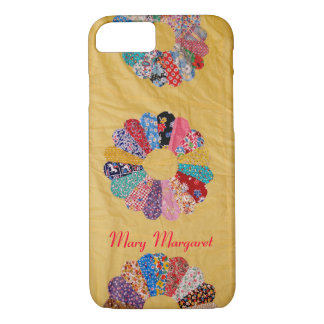Vintage Yellow Quilt iPhone 8/7 Case