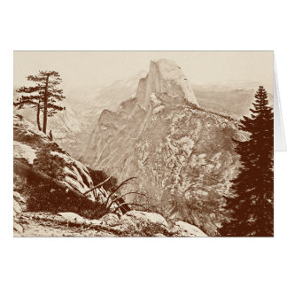 Vintage Yosemite National Park Card